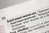 Businesswoman definition