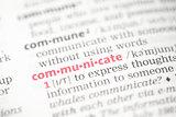 Communicate definition