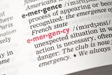Emergency definition