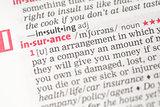 Insurance definition