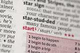 Start definition