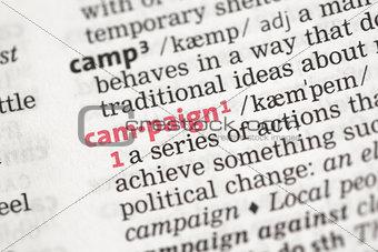 Campaign definition