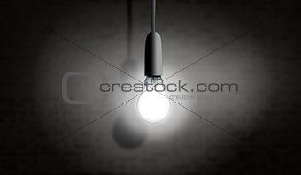 One light bulb