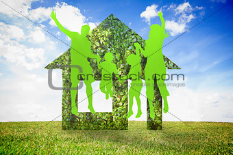 Green jumping family
