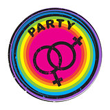queer party stamp