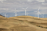 Wind Turbines in Goldendale Washington Landscape