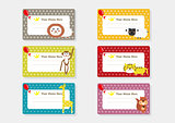 Cute Animal Cartoon Batch Sticker - Party Time 2