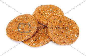 Sliced rye tortillas