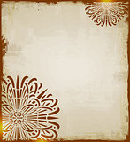 Vintage ethnic  background