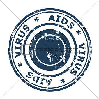 AIDS virus Stamp
