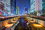 Cheonggyecheon in Seoul