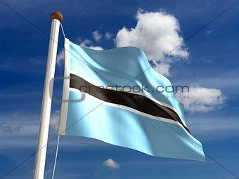 Botswana Flag