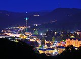 Downtown Gatlinburg, Tennessee