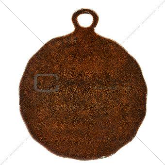 Old bronze medal