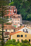 View of Sintra / Old european town / Portugal