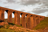 Artengill Viaduct at sunset
