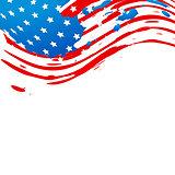 creative american flag