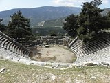 Amphitheater of the ancient city Arykanda.