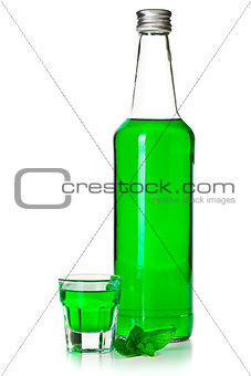 green mint liquor