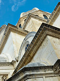 Part of the Cathedral of St. James in Sibenik