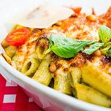 tasty Baked Italian pasta