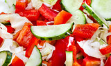 Summer vegetable salad mix