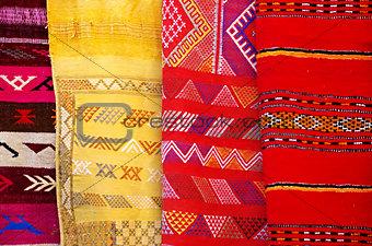 Arabic colorful  blanket