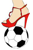 Women and football