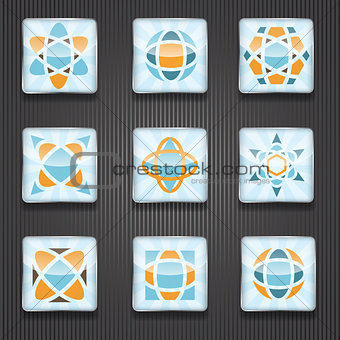 9 Logo Shiny Icons