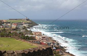 Fortress San Felipe de Morro, San Juan, Puerto Rico