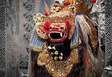 Barong - character in the mythology of Bali, Indonesia.
