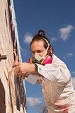 Aerosol Artist Painting