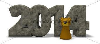 bear year 2014