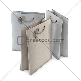 Three Shopping bags
