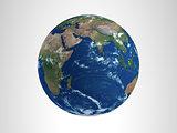 Earth  3D Render Hi Resolution