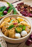 Singaporean Curry Noodle