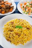 Middle eastern food.