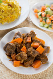 Arabic rice and mutton
