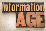 information age in wood type