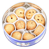 Danish Cookies in round box