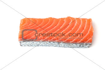 Fresh salmon piece