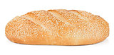White bread with sesame