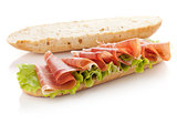 Sandwich preparation
