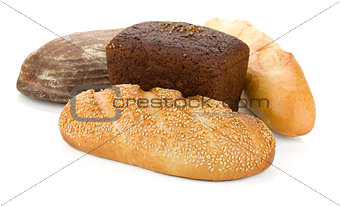 Four loafs of bread