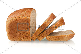 Sliced brown bread