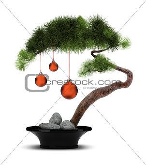Chinese New Year pine tree