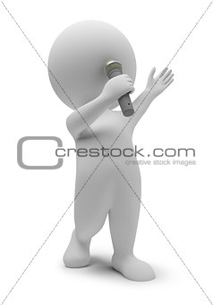 3d small people - singer