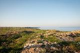 Cliffs above Black sea, Bulgarian coast