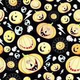 texture of pumpkins for Halloween