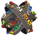 Car Road Traffic